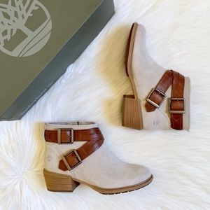 Timberland Sutherlin Bay Cross Strap Ankle Boots
